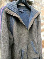 Eden Park magnifique pull gilet blouson pour femme 100 % laine d agneau. T L tbe