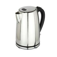 POLISHED STAINLESS STEEL ELECTRIC CORDLESS JUG KETTLE 1.7L LITRE 3000W