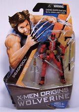"DEADPOOL X-MEN ORIGINS WOLVERINE COMIC SERIES ACTION FIGURE MOSC 3 3/4"" 2009"