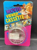 NOS VINTAGE FASCINATIONS MOVIE VIEWER CASSETTE A014 SUPERMAN SAVES THE DAY #5