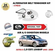 FOR OPEL VAUXHALL ASTRA H 1.9 CDTI 150BHP 2004-> ALTERNATOR BELT TENSIONER KIT