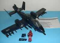 Complete 1984 GI Joe Cobra Rattler Ground Attack Jet Wild Weasel Blueprints Lot