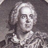Portrait XVIIIe Maurice De Saxe Comte de la Raute Moritz von Sachsen Louis XV