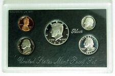 1994 S Mint Silver Proof Set 5 Coins w/ COA No Original Outside Box