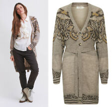 CREAM - 10606911 Lange Cardigan / FEATHER GREY MELANGE / HERBST 2020  38 - M (L)