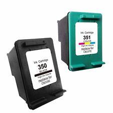 x2 cartuchos impresora 350XL 351 XL OfficeJet j5780 Photosmart c4280 c4380 HQ
