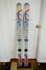 New listing NORDICA SWEET THANG SKIS SIZE 130 CM WITH BINDINGS