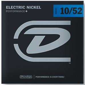 Dunlop DEN1052 Electric Nickel Wound Guitar Strings. Gauge: 10-52