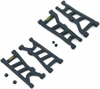 RPM Suspension Arms A-Arms Set Front Rear Black For Arrma Typhon 4x4 3s