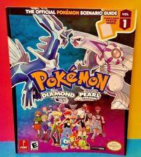 Pokemon Diamond Pearl Scenario Vol 1 Official Strategy Guide Book Nintendo DS