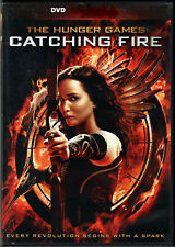 THE HUNGER GAMES in CATCHING FIRE Movie on a DVD of BOOK Saga 2 Sci-Fi SEQUEL PG