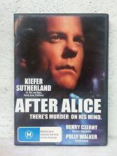 After Alice (DVD) Kiefer Sutherland 1999 Serial Killer Movie - REGION 4 - RARE !