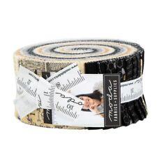 "MODA Jelly Roll - Bee Joyful - Bees Hive Honey Cotton Fabric 40 Strips 2.5""W New"