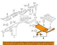 MAZDA OEM 12-13 3 2.0L-L4-Muffler PE1840100A