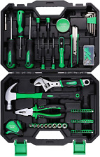 100 PIECES Tool Kit for Home | Home Repair Tool Kit Sets | Hammer | Screwdriver