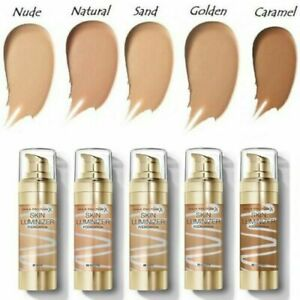 MAX FACTOR SKIN LUMINIZER MIRACLE FOUNDATION (CLEAR LID CYLINDER) *CHOOSE TYPE*