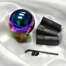 JDM Neo Chrome Ball Aluminum Manual MT Gear Stick Shift Shifter Knob Universal
