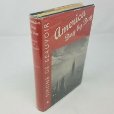 New listing America Day by Day | Simone De Beauvoir | 1952, Illustrated | Hc