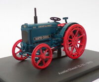 Hachette 1/43 Scale Model Tractor HT072 - 1933 Austin Diesel 22-35 - Blue