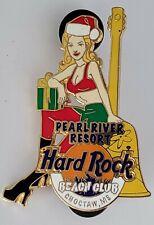 Hard Rock Cafe Beach Club Choctaw MS Sexy Santa LE HRC pin Pearl River