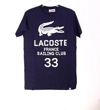 Lacoste t shirt sport mens Crew neck custom fit tshirt Tee designer printed tee