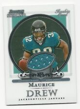 Maurice Drew 2006 Bowman Sterling Rookie Jersey Card. # BS-MD,  Jaguars