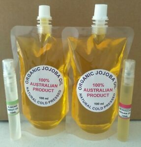 CHEAPEST Organic Jojoba Oil - FREE ARGAN OIL, ROSEHIP OIL, VITAMIN E, ALMOND OIL