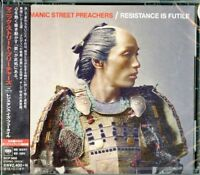 MANIC STREET PREACHERS-RESISTANCE IS FUTILE-JAPAN CD BONUS TRACK F30
