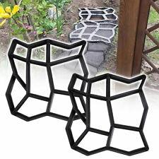 Stampo per Cemento Pietra Pavimenti Plastica per Giardino Pavimentazione DIY