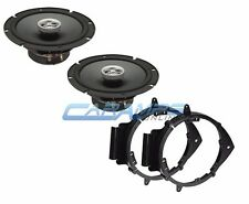 "NEW POWERBASS L2-SERIES 6.5"" CAR TRUCK STEREO SPEAKERS W/ DOOR MOUNTING BRACKETS"