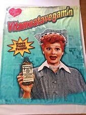 I Love Lucy Vitameatvegamin Huge Throw Blanket