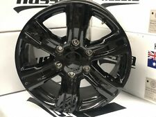 "4X NEW Genuine FORD XLT PX3 RANGER  2019 FACTORY GLOSS BLACK 17"" WHEELS ONLY X4"