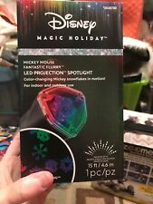 Disney Mickey Mouse Fantastic Flurry LED Projection Spotlight Magic Holiday