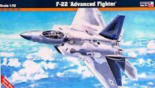HALF PRICE F-22 RAPTOR ADVANCED FIGHTER (USAF MKGS) #F06 MISTERCRAFT