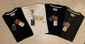 Tommy Hilfiger  V  Neck Herren T-Shirt Shirt Polo S M L XL XXL 5 Farben