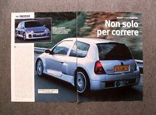[GCG] AS03 - Clipping-Ritaglio -2000- RENAULT CLIO SPORT V6 , AL VOLANTE
