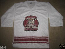 Phoenix Coyotes Mascot Howler Jersey Youth L 14-16 large