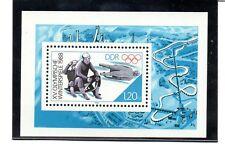 Alemania DDR Deportes Olimpiadas año 1988 (AZ-606)