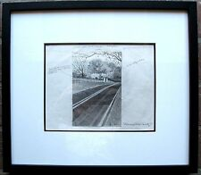 ROLLAND GOLDEN, Original Graphite Drawing, Thoroughbred Country, Signed