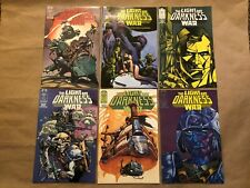 THE LIGHT AND DARKNESS WAR #1 #2 #3 #4 #5 #6 Epic Comics Limited Series 1988 ;