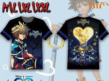 Camiseta Kingdom hearts Sora Keyblade llavespada fullprint