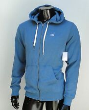 Vans skateboard classic Fit Blue Zip up Mens Hoodie size Small