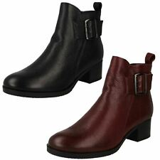 Ladies Clarks Stylish Ankle Boots Mila Charm