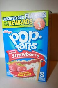 USA Kellogg's Pop Tarts Frosted Strawberry (8 toaster pastries)