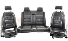 🌟Audi A4 S4 B6 B7 Cabrio Convertible Black Leather Complete Interior Set Seats