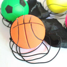High Bounce Ball Elastic Rubber Ball With Elastic String Wrist Bounce Ball