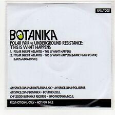 (GG151) Polar Pair vs Underground Resistance, This Is What Happens - 2009 DJ CD