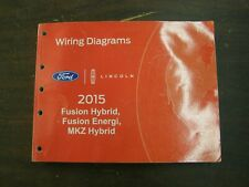 OEM Ford 2015 Fusion Hybrid Shop Manual Wiring Diagram Book nos Lincoln MKZ