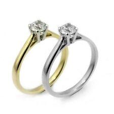 Moissanite Solitaire Fine Rings