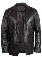 Cappotti e giacche da uomo blazer nero con colletto